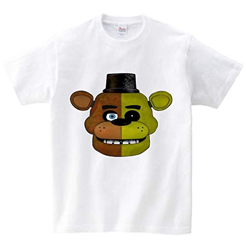 - KoreaFashion FNAF Shirt Cotton Merch Shirts for Kids Youth Birthday Welcome Funny Nightmare Collectables