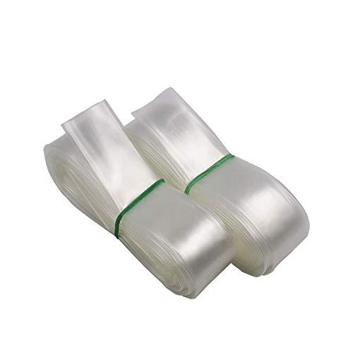 HobbyUnlimited Polyolefin 2:1 Clear Transparent Heat Shrink Tubing (3/4in Diameter, 30 Feet Length)