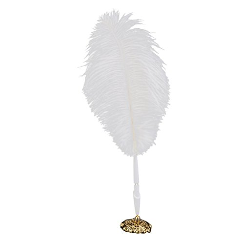 PIXNOR Feather Wedding Reception Guest