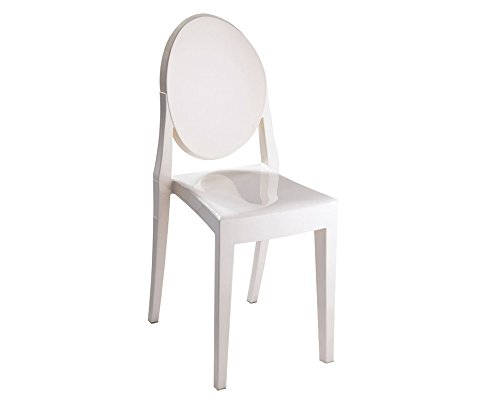 Mod Made Louie Armless Chair, Ivory