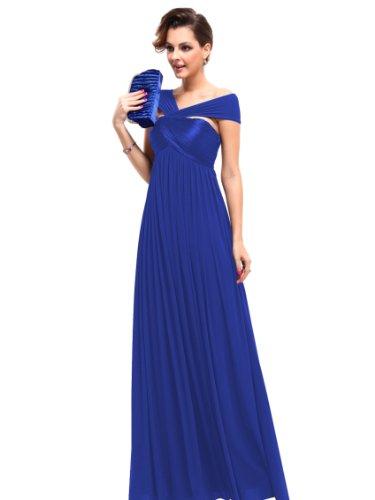 Ever-Pretty HE09464WH16 - Vestido para mujer Sapphire Blue