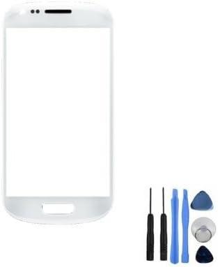 BisLinks® frontal en color blanco de pantalla cristal Para Samsung Galaxy S3 Mini i8190 + herramientas: Amazon.es: Electrónica