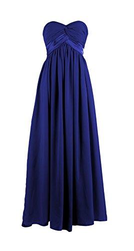 YiYaDawn -  Vestito  - stile impero - Donna blu reale 44