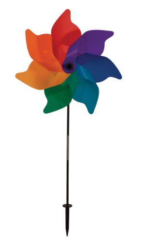 Poly Spinner (In the Breeze Rainbow Poly Petal Pinwheel Spinner,)