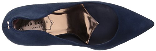 Ted Baker Womens Saviy Patl Af Abito Formale Scarpa Blu Scuro Pelle Scamosciata