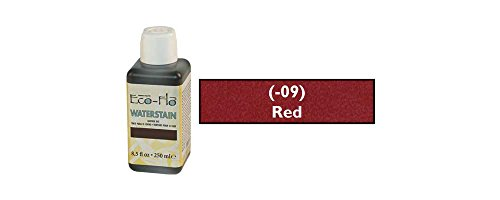 - Tandy Leather Eco-Flo Waterstain Red 8.5 oz. (250ml) 2800-09