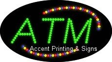 ATM Flashing & Animated LED Sign (High Impact, Energy Efficient)