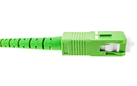 Compatible 99/% op/érateurs Movistar Jazztel Vodafone Orange Amena Masmovil Yoigo Citronier 1 m SC//APC-SC//APC Simplex 9//125 OS2 FiberGlobal C/âble Fibre Optique pour routeur Tuyau monomode FTTH