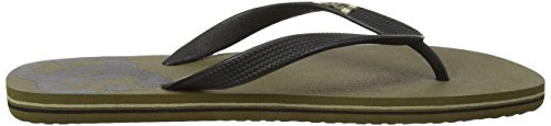 para Black DC Ob2 Chanclas Spray Shoes Hombre Verde Olive qqw1S