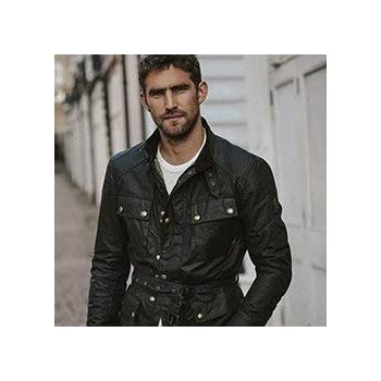 Belstaff Trialmaster 2.0 wax cotton jacket black XL