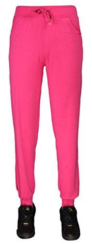 Baggy–Mallas Harén Pantalones Pantalones Deporte Pantalones Jersey Sweatpant | tamaño m–XXXL Rosa
