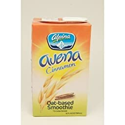Alpina Oat-based Smoothie Cinnamon Flavor 32 oz (Pack of 6)