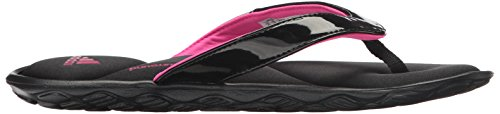 adidas Womens Anyanda Flex Y W Athletic Sandal Black/Silver Metallic/Shock Pink TTMpf0l4
