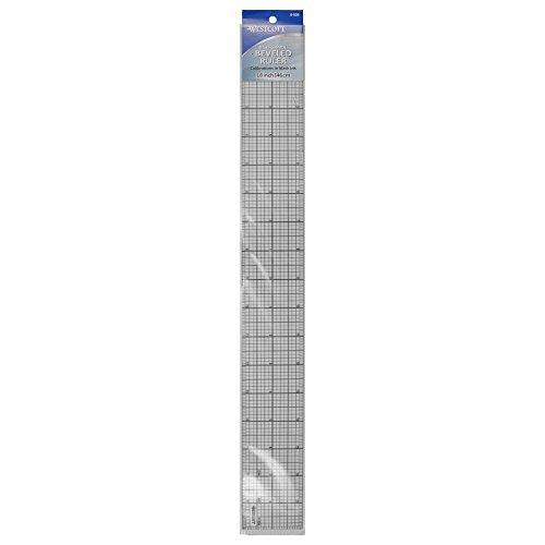 Westcott Beveled Graph Ruler, 2 x 18
