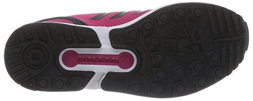 adidas M19387 - zapatillas de running de material sintético niña - Multicolor (Bopink/Cblack/Ftwwht)
