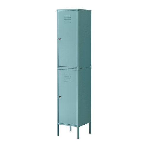 Etonnant Amazon.com: Ikea PS Cabinet Tall Locker Turquoise Green Blue Metal Locking:  Kitchen U0026 Dining