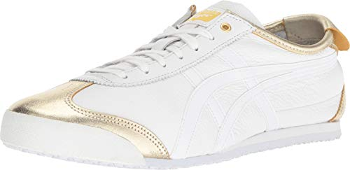 Onitsuka Tiger Unisex Mexico 66 Shoes 1183A033, Lich Gold/White, 5 M - Tigers 5