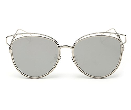 Heartisan Personlized Hollow Metal Cat Eye Frame Full Rim Sunglasses for Womens - Cat Eye Sunglasses India