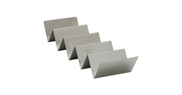 Amazon.com: winco tchs-45 4 – 5 compartimentos Taco de acero ...
