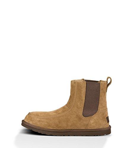 907b7f5e702 UGG Men's Bloke II Chestnut Suede/Sheepskin Boot 9 D (M) - Buy ...