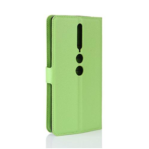 Funda Lenovo phab 2 Pro,Manyip Caja del teléfono del cuero,Protector de Pantalla de Slim Case Estilo Billetera con Ranuras para Tarjetas, Soporte Plegable, Cierre Magnético F