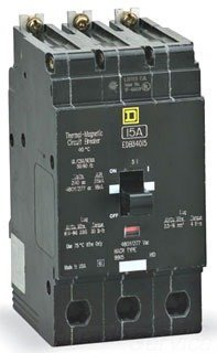 SCHNEIDER ELECTRIC 480Y/277-VOLT 45-AMP EGB34045 Miniature Circuit Breaker 480Y/277V 45A by Schneider Electric