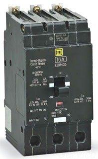 SCHNEIDER ELECTRIC 480Y/277-VOLT 50-AMP EDB34050 Miniature Circuit Breaker 480Y/277V 50A