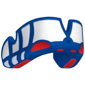 OPROshield Platinum Mouthguard - Red/White/Blue, One Size by OPRO