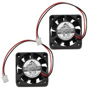 2-packs 40 x 40 x 10mm 4010 12V 0.10A Brushless DC Cooling Fan 2pin AV-F4010MB UL CE by AMBEYOND FAN (Image #2)