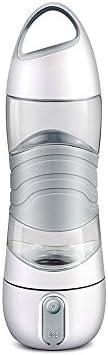 スポーツボトル、サイクリング、登山用イルミネーション緊急インジケータと屋外での使用のための漏れ防止の多目的ガラス、,グレー