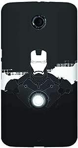 Stylizedd Google Nexus 6 Slim Snap case cover Matte Finish - Iron Man Beam