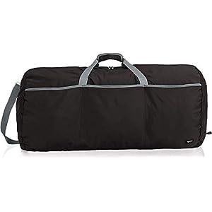 Amazon Basics Large Travel Luggage Duffel Bag, Black