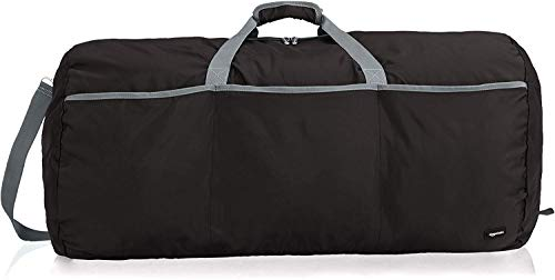 AmazonBasics Large Travel Luggage Duffel Bag - Black