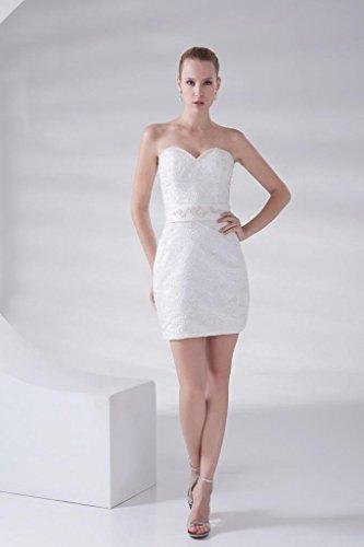 Abnehmbare Traegerlos Weiß Schleppe Entwurf Brautkleider BRIDE GEORGE Brautkleid Neuer Hochzeitskleider RqwIS44