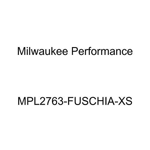 Milwaukee Performance Women's Waterproof Lightweight Zipper Front Soft Shell Jacket (Fuschia, X-Small)