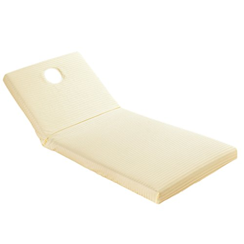 MagiDeal Reusable SPA Massage Cloth Bed Sheet Cover With Face Hole 190x70cm - ()
