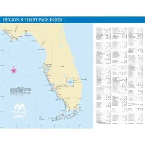 MAPTECH PAPER CHARTS Maptech ChartKit Book w/Companion CD - Florida West Coast & The Keys
