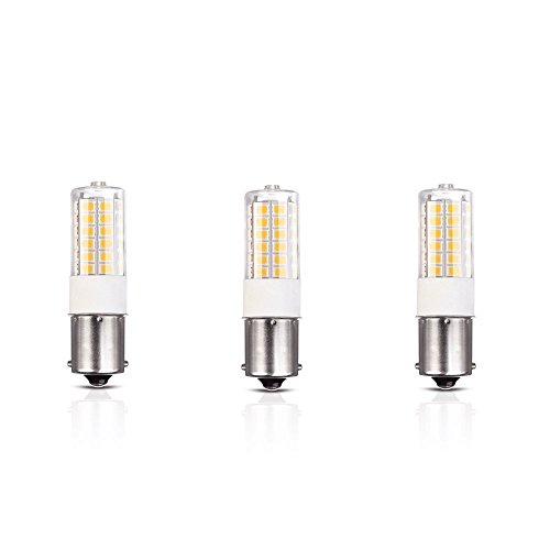 t 1156 1141 Bayonet Single Contact LED Landscape Path Lighting,Marine Auto Turn Signal Lighting Systems Soft Warm White 2700K Equivalent 30 Watt Halogen Bulb 3-Pack(Warm White) ()