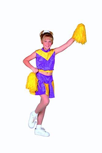 RG Costumes Cheerleader Dress, Velvet