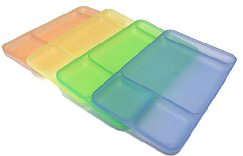 Tupperware Impressions Divided Dining Plates product image