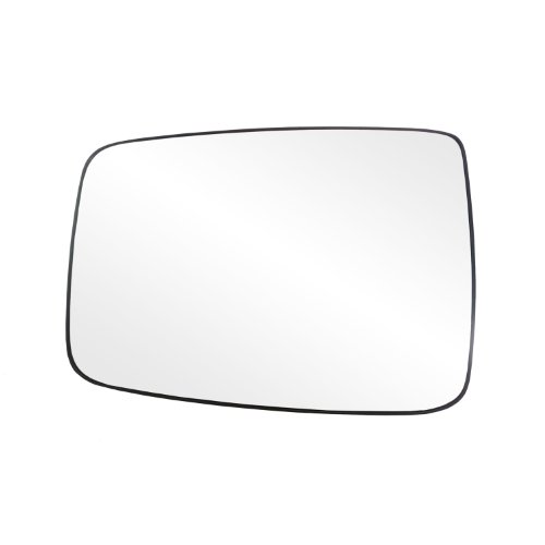 (Fit System 88244 Dodge RAM 1500/2500/3500 Left Side Manual/Power Replacement Mirror Glass with Backing Plate)