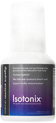 Isotonix Digestive Enzyme Supplement w/Probiotics – One Bottle (90 Servings) (10.6 oz)