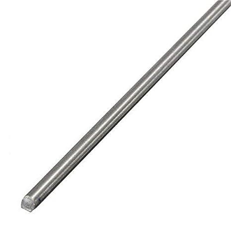 2PCS Titanium Ti Grade 5 Gr.5 GR5 Metal Rod Diameter 5mm Length 25cm