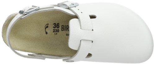 Birkenstock Professional TOKIO SL  NL - Zuecos de cuero unisex Blanco (WEISS)