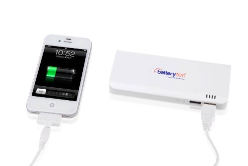 Batterytec-Portable-charging-device-Mobile-Battery-Pack-10400mAh-High-Capacity-External-Battery-Pack-Power-Bank-Charger-DC-52V-21A-USB-Fast-Output-for-Smart-Phones-Android-Phones-PS-Vita-GoPro-iPhone-