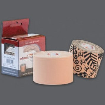 Dynamic Tape - Tan, 2'' x 16.4' (5cm x 5m) 6 rolls