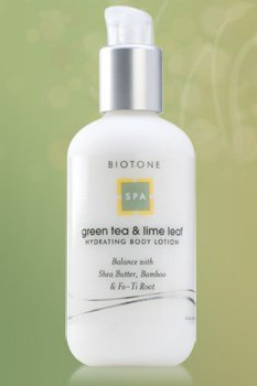 Biotone Lotion hydratante pour le corps, le thé vert et Lime Leaf, 8,0 Fluid Ounce