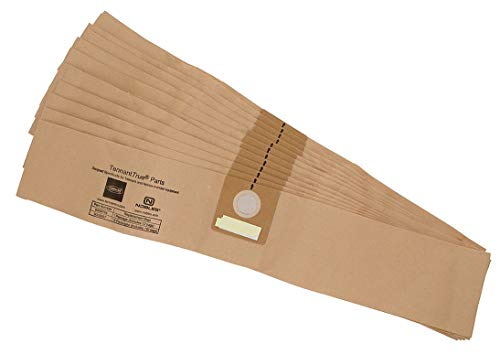 Nobles 1/64 W x 5-11/16 Filter Bag, 12PK Paper Includes 12 Bags 9009784-1 Each