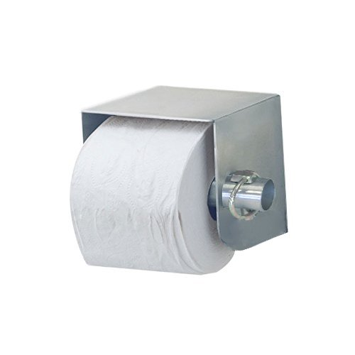 Royce Rolls Stainless Steel Standard Single Roll Toilet Paper Holder Dispenser - #TP-1 with #TP-CLIP