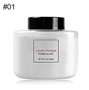 Wanyne Beauty Matte Banana Loose Powder Translucent 4 Colors Silky Makeup Finisher Makeup Setting Powder